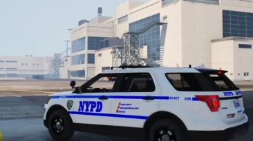 """Grand Theft Auto 5 """"Ford Explorer 2016 NYPD [Add-On / FiveM] 3.0"""""""