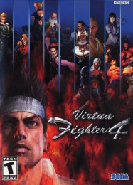 Обложка игры Virtua Fighter 4
