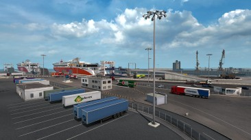 Обновление Euro Truck Simulator 2 затронуло панель запуска, платформы и Кале