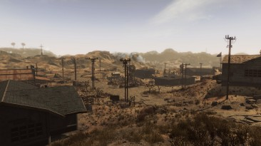 Гудспрингс на новых скриншотах модификации Fallout 4: New Vegas