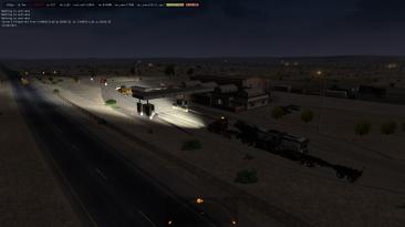 """American Truck Simulator """"Голосовое оповещание при приближении к станции весового контроля"""""""