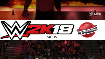 "WWE 2K18 "" Kane 2011 MOD"""