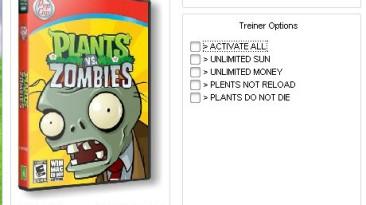 Plants vs Zombies: Трейнер (+4) [v1.2.0.1073] {DenkA003}