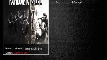 Tom Clancy's Rainbow Six: Siege: Трейнер/Trainer (+4) [1.14] {MrAntiFun}