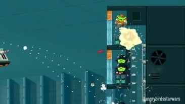 "Angry Birds Star Wars ""Официальный геймплейный трейлер"""