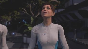 Mass Effect Andromeda - Просто Sara Ryder (Лицевая анимация с другой планеты)