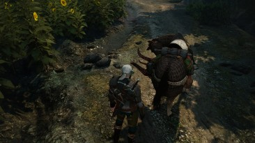 """Witcher 3: Wild Hunt """"Мод исправляющий гриву и хвост у плотвы для патча 1,22\Mane and Tail Fixes for 1.22 patch"""""""