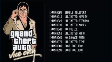 Grand Theft Auto: Vice City: Трейнер/Trainer (+8) [Latest Steam] {LIRW / GHL}