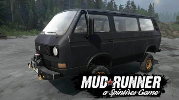 "Spintires: MudRunner ""Volkswagen Transporter T3"""
