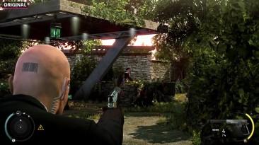 Hitman: Absolution - Графика игры на PC vs. Remaster on PS4 Pro