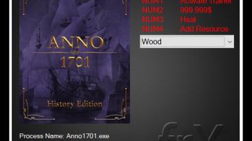 Anno 1701 History Edition: Трейнер/Trainer (+3) [1.4512.940870] {frX}