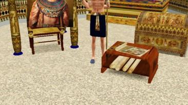 """Sims 3 """"Фараон Акменра из фильма - Ночь в музее"""""""