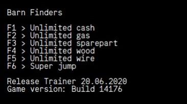 Barn Finders: Трейнер/Trainer (+6) [Steam] {LIRW / GHL}