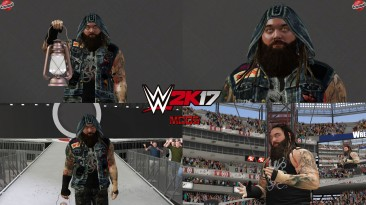 "WWE 2K17 ""Bray Wyatt Наряд (Лицевая анимация) WWE 2K19 Порт мод"""