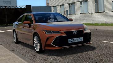 "City Car Driving ""Toyota Avalon v3.5 2019 (v1.5.8 - 1.5.9.2)"""