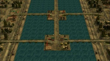 """Command & Conquer Generals: Zero Hour """"Карта - The Last Dawn of Hong Kong"""""""