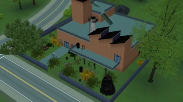 "Sims 3 ""Дом Заброшенный склад"""