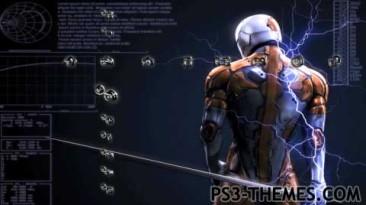 Metal Gear Solid тема для ps3