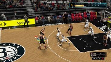 """NBA 2K13 """"Пас самому себе и трехочковый!"""""""