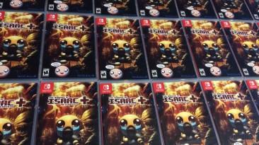 Физические копии The Binding of Isaac: Afterbirth+ для Switch доберутся до Европы