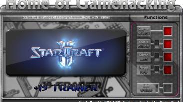 StarCraft 2: Wings of Liberty: Трейнер/Trainer (+19) [2.1.11.36281] {iNvIcTUs oRCuS / HoG}