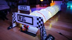 Фанат воссоздал трек Rainbow Road для Mario Kart Live: Home Circuit
