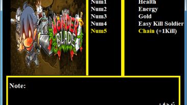 Wonder Blade: Трейнер/Trainer (+5) [1.0] {Abolfazl.k}