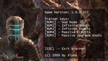 Dead Space: Трейнер (+5) [1.0.0.222]