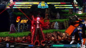 Marvel vs. Capcom 3: Fate of Two Worlds. Как нелепо!