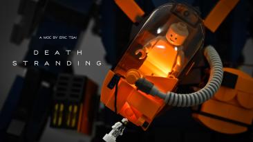 Death Stranding из лего