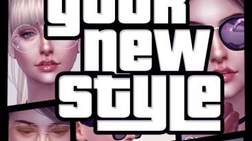 """Sims 4 """"Набор детализированных очков для Ж (2020)"""""""