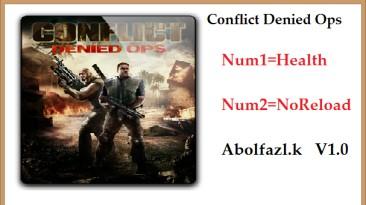 Conflict: Denied Ops: Трейнер/Trainer (+2) [1.0] {Abolfazl.k}
