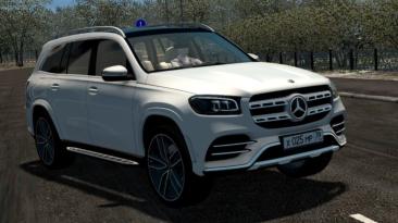 """City Car Driving """"Mercedes-Benz GLS 580 (X167) (v1.5.9.2)"""""""