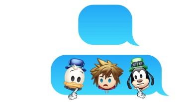 Как бы выглядел Kingdom Hearts 3 если бы это были эмодзи