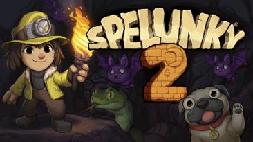 Сетевой мультиплеер в Spelunky 2 на PC запустится 14 декабря