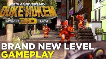 Геймплей одного из новых уровней Duke Nukem 3D 20th Anniversary