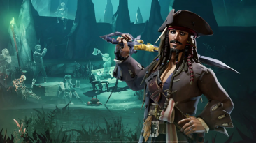 """Обширный видеоролик о грядущем кроссовере """"Пиратов Карибского моря"""" в Sea of Thieves"""