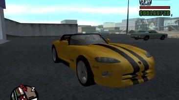"Grand Theft Auto: San Andreas ""Dodge Viper RT10 Roadster"""