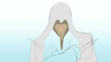 Создание рисунка Эцио времен AC:B