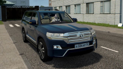 "City Car Driving ""Toyota Land Cruiser 200 Facelift (1.5.9.2)"""