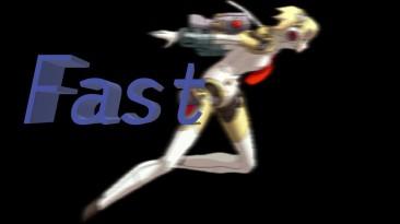Айгис использует бег ниндзя
