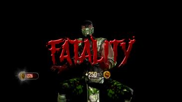 """Mortal Kombat (2011) """"Reptile mkx(human second suit)(mesh swap)"""""""