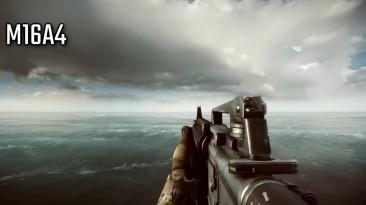 Battlefield 4 против Modern Warfare REMASTERED звуки оружия и перезарядка