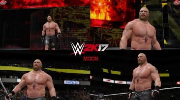 "WWE 2K17 ""Brock Lesnar SummerSlam 2021 (Лицевая анимация) WWE 2K19 Порт Мод"""