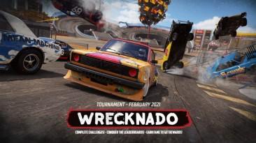 Новое обновление для Wreckfest добавляет сезонное событие Wrecknado