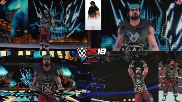 "WWE 2K19 ""Roman Reigns Arctic Shield 2K20 Порт Наряд Мод"""