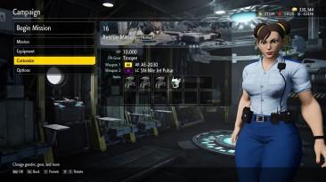 "Earth Defense Force: Iron Rain ""Chun Li Police Outfit Mod"""