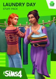 Обложка игры The Sims 4: Laundry Day