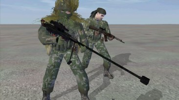 "Operation Flashpoint: Cold War Crisis ""СВН98 и АК107 - Оружие"""