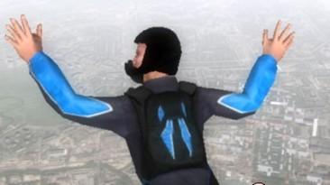 """B.A.S.E. Jumping: Точка отрыва """"Черно-синий ранец"""""""